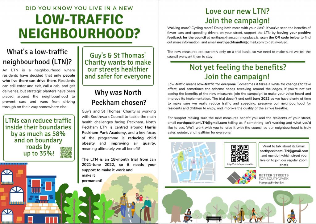 North Peckham LTN Flyer